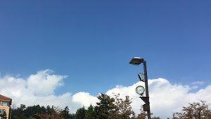 雨降るフルーツ公園