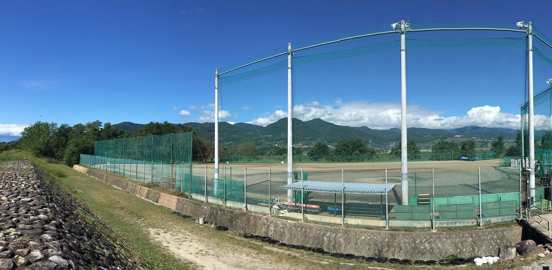 日川高校野球グラウンド