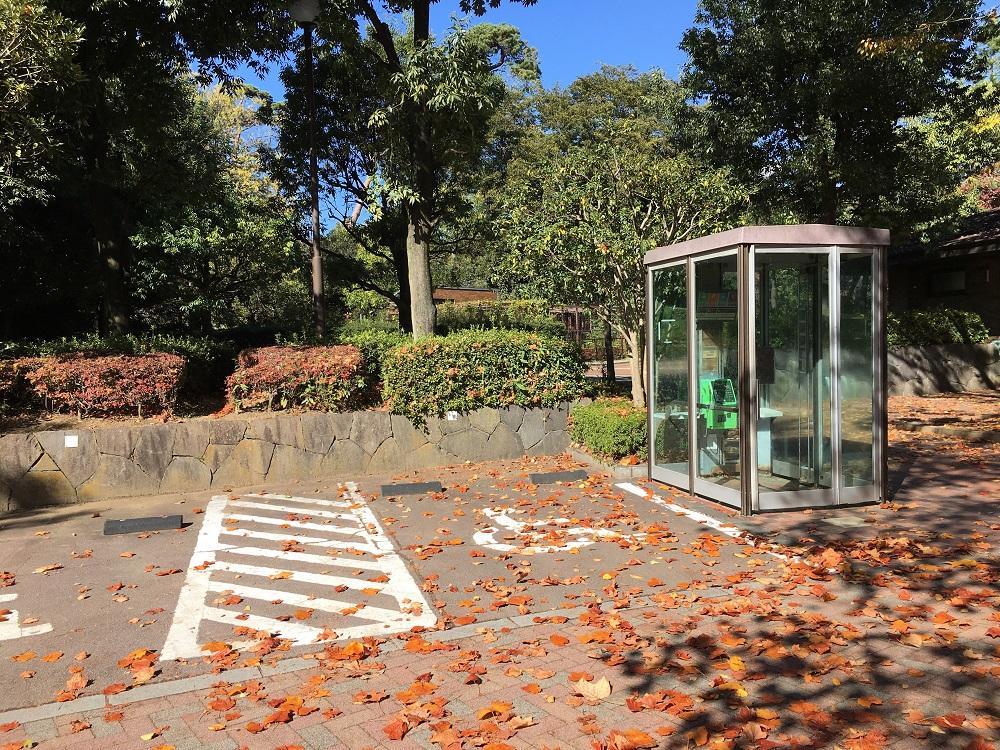 万力公園電話ボックス