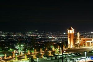 恋人の聖地からの夜景